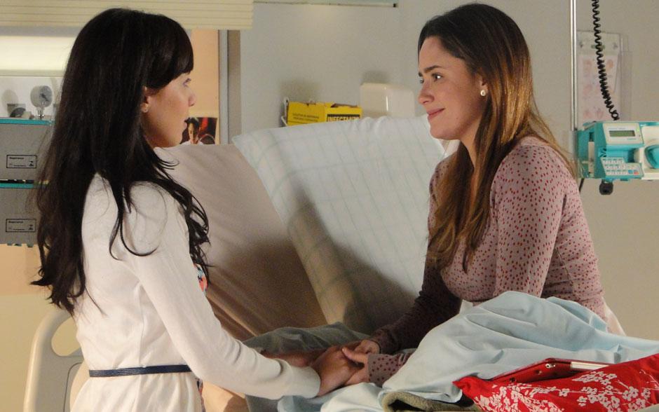 Ana perdoa Manu e diz que nada vai separá-las