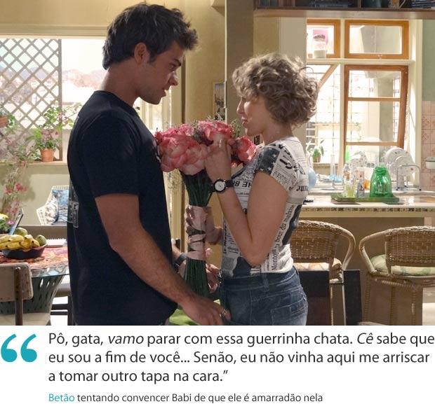 Frases da semana 15 betão (Foto: Malhação / TV Globo)