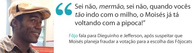 Frases da semana 15 fôjo (Foto: Malhação / TV Globo)