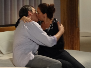 Eles se amam (Foto: Fina Estampa/TV Globo)
