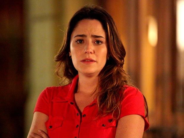 Ana sofre com a recusa de Júlia em ficar com ela (Foto: A Vida da Gente / TV Globo)