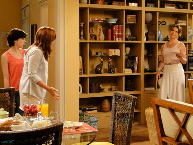 Laura, Débora e Alexia Malhação (Foto: Malhação / TV Globo)