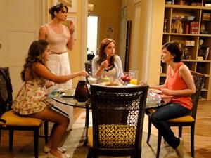 Laura, Débora, Michele e Alexia Malhação (Foto: Malhação / TV Globo)