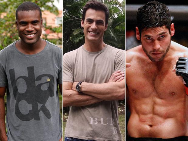 Atores dão dicas de alimentação e exercícios para manter a boa forma (Foto: Fina Estampa/TV Globo)