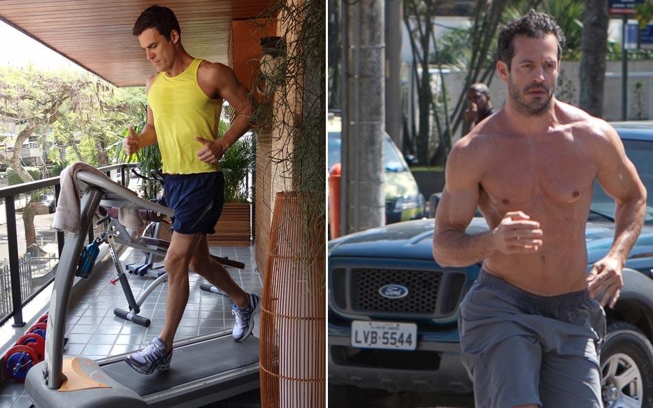Corrida é uma das dicas dos atores para manter o corpo em dia