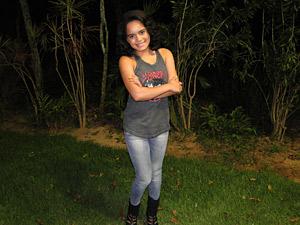 A atriz diz que Solange mostra um outro lado do funk (Foto: Fina Estampa / TV Globo)