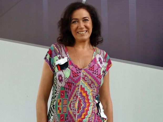 Lilia Cabral fala sobre a nova fase de Griselda (Foto: Fina Estampa/ TV Globo)