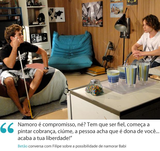 Frase da semana Betão Malhação (Foto: Malhação / TV Globo )