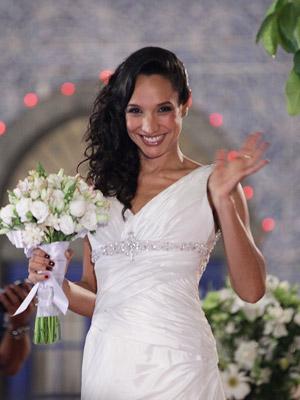 Raíssa de noiva (Foto: Aquele Beijo/TV Globo)