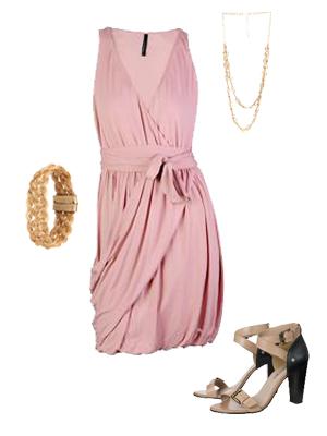 Aposte em vestidos com decote e drapeado (Foto: C&A)