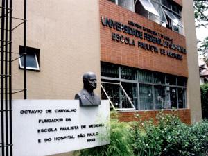 Fachada Unifesp malhação (Foto: José Luiz Guerra / Unifesp)