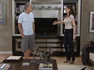 Helena acaba expulsando Nelson de casa (Foto: Malhação/TV Globo)