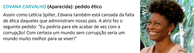 pedido papai noel edvana carvalho (Foto: Malhação / TV Globo)