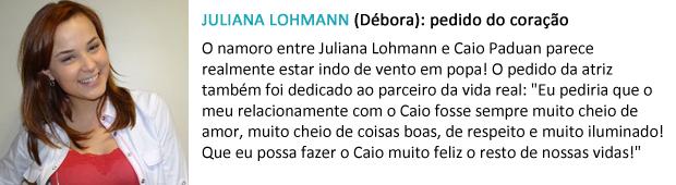 pedido papai noel juliana lohmann (Foto: Malhação / TV Globo)
