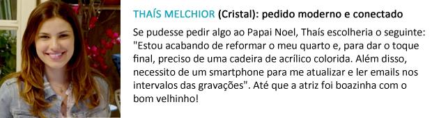 pedido papai noel thaís melchior (Foto: Malhação / TV Globo)