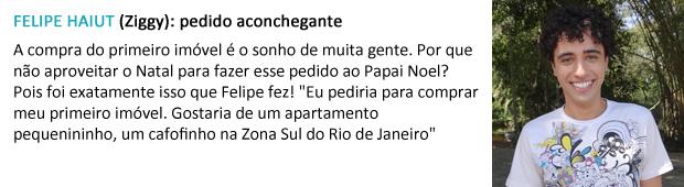 pedido papai noel felipe haiut (Foto: Malhação / TV Globo)