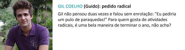 pedido papai noel gil coelho (Foto: Malhação / TV Globo)