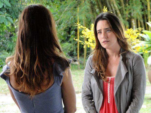 Ana decide se afastar de Rodrigo (Foto: A Vida da Gente - Tv Globo)