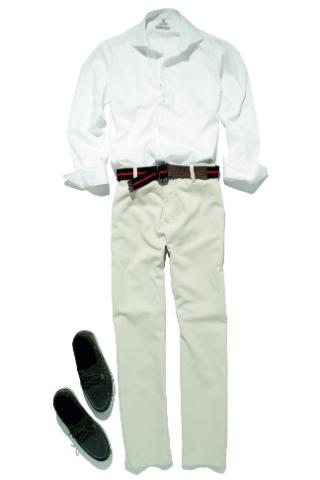 Camisas e calças sociais deixam o visual elegante para qualquer ocasião (Foto: C&A)