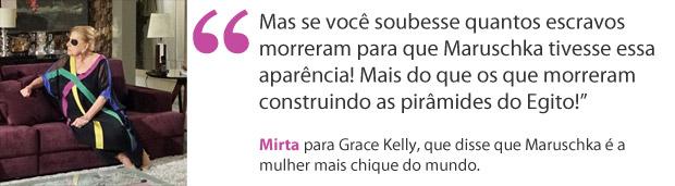 Mirta (Foto: Aquele Beijo/TV Globo)