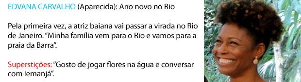 Edvana carvalho ano novo (Foto: Malhação/TV Globo)