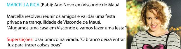 Ano novo marcella rica (Foto: Malhação/TV Globo)