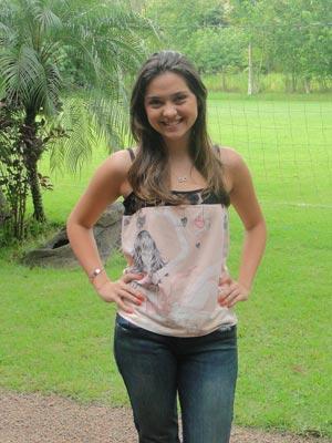 Atriz faz segundo trabalho com Lícia Manzo (Foto: A Vida da Gente/TV Globo)