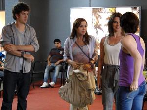 Gabriel, alexia, débora  e laura Malhação (Foto: Malhação / TV Globo)
