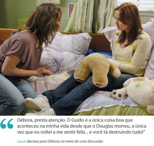 Frases da semana laura (Foto: Malhação / TV Globo)