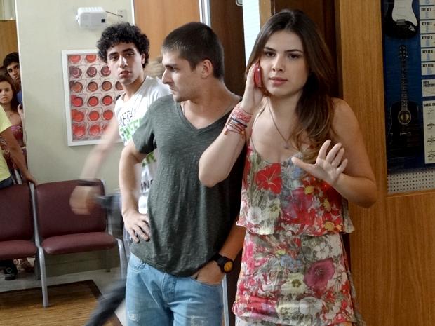 Cristal, Tomás e Ziggy Malhação (Foto: Malhação / TV Globo)