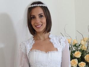 Tiara com brilhantes deixa look iluminado (Foto: Fina Estampa/TV Globo)