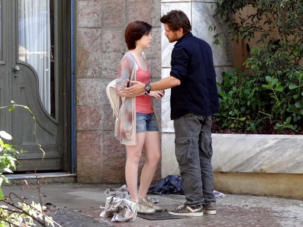 Alexia e Moisés Malhação (Foto: Malhação / TV Globo)