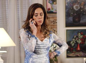 Tereza Cristian não tem paciência com Fred (Foto: Fina Estampa/TV Globo)