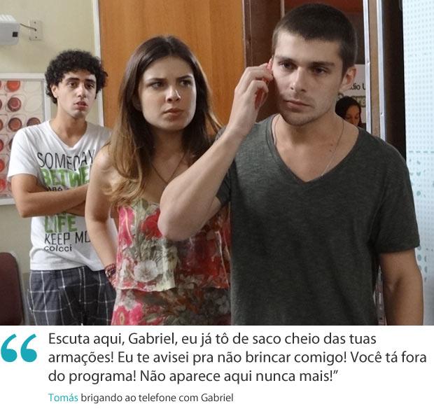 Frases da semana tomás (Foto: Malhação / TV Globo)