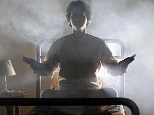 Joselito brilha enquanto medita (Foto: Aquele)