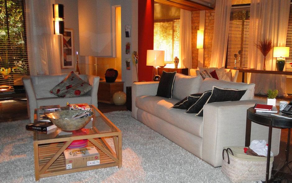 Conhe a o novo apartamento de ana fotos em fotos a - Sala da pranzo rustica ...