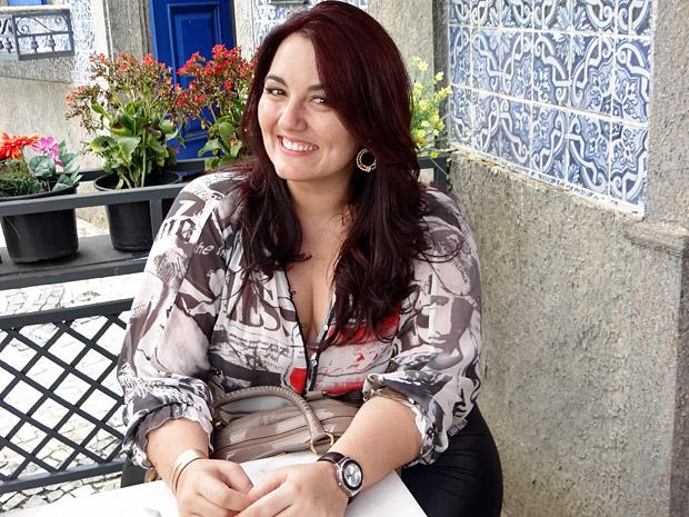 Renata Celidônio  (Foto: Aquele Beijo/TV Globo)