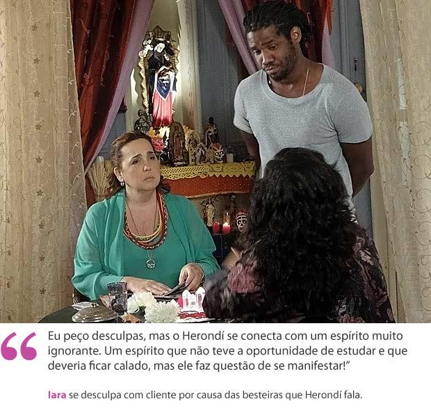 Iara (Foto: Aquele Beijo/TV Globo)