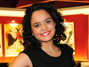 Carol Macedo ainda acha que Jakeline será eliminada (Foto: João Miguel Jr/TV Globo)