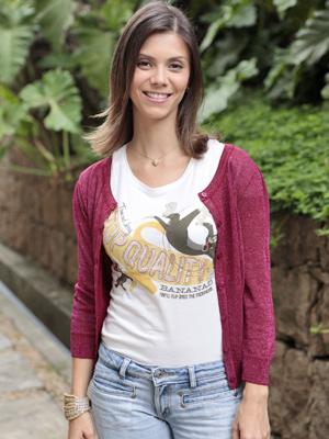 Carioca da gema, Joana Lerner diz ter um estilo básico (Foto: Fina Estampa/TV Globo)