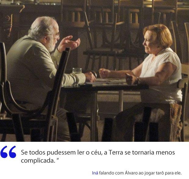 Iná e sua sabedoria contagiante (Foto: A Vida da Gente / TV Globo)