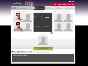 Continue participando do Palpitômetro (Foto: Fina Estampa / TV Globo)