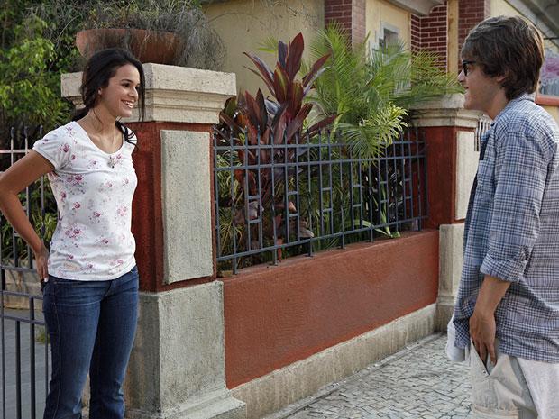 Belezinha e Orlandinho (Foto: Aquele Beijo/TV Globo)