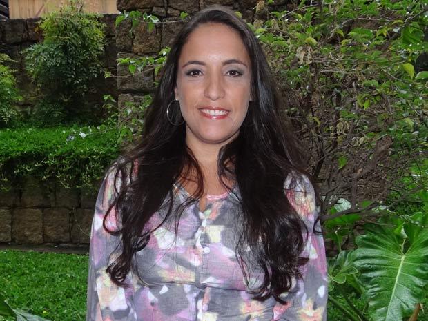Katia Moraes conta que Marilda é um sonho realizado (Foto: Fina Estampa/ TV Globo)