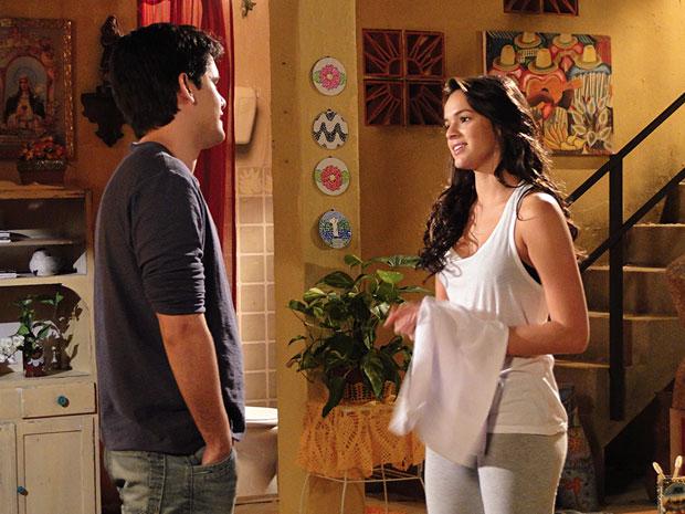 Renato e Belezinha (Foto: Aquele Beijo/TV Globo)