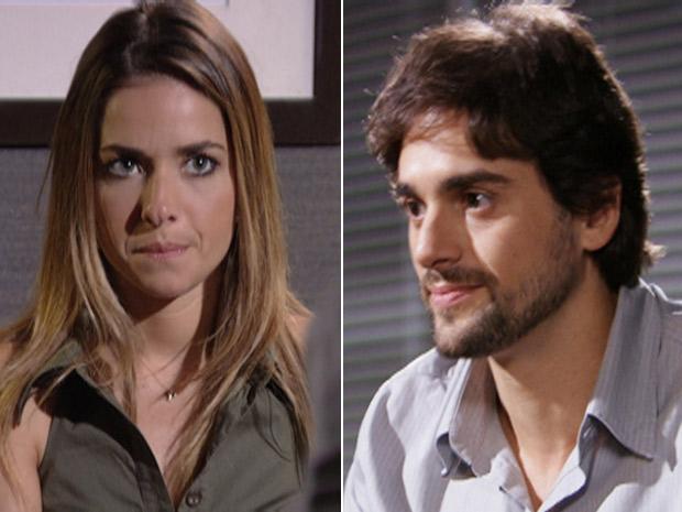 Beatriz conta toda a verdade para Beto Júnior (Foto: Fina Estampa / TV Globo)