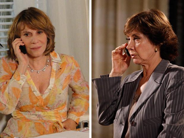 Celina diz que Danielle nunca mais verá Pedro Jorge (Foto: Fina Estampa/TV Globo)