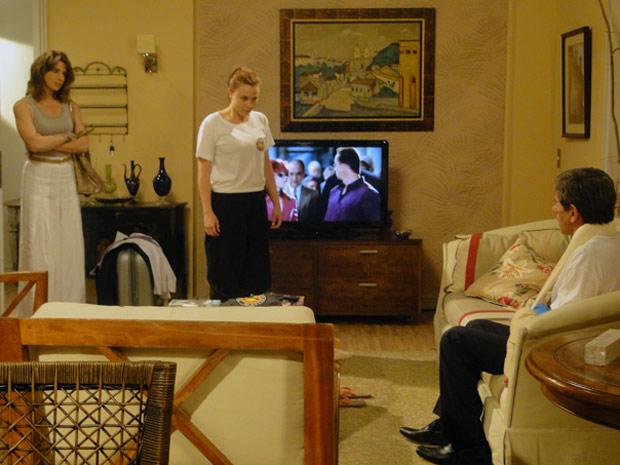 Débora briga com Laura e pede para morar com o pai (Foto: Malhação / TV Globo)