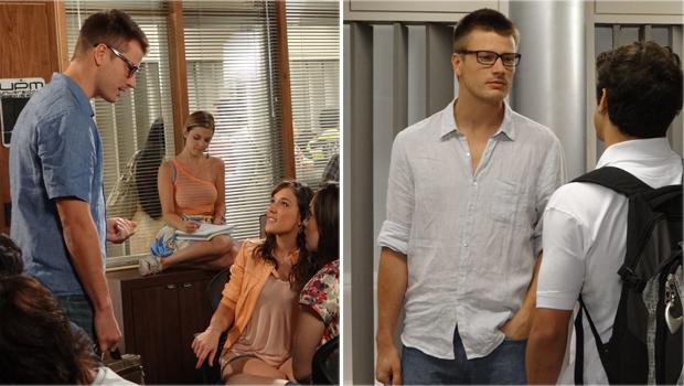 Camisas de linho são as preferidas do personagem (Foto: Fina Estampa/TV Globo)