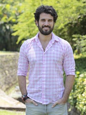 Eriberto diz que tudo pode acontecer entre Ana, Rodrigo e Manu (Foto: A Vida da Gente / TV Globo)